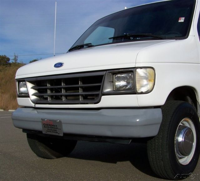 2001 Ford Econoline E350 Super Duty Cargo Transmission: A SOLID GEORGIA EZ LIFE COLD AC ROOF LADDER RACK CARGO HD