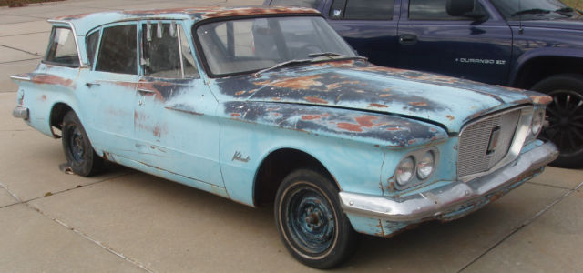 Very Rare 1960 Chrysler Valiant Suburban project car.