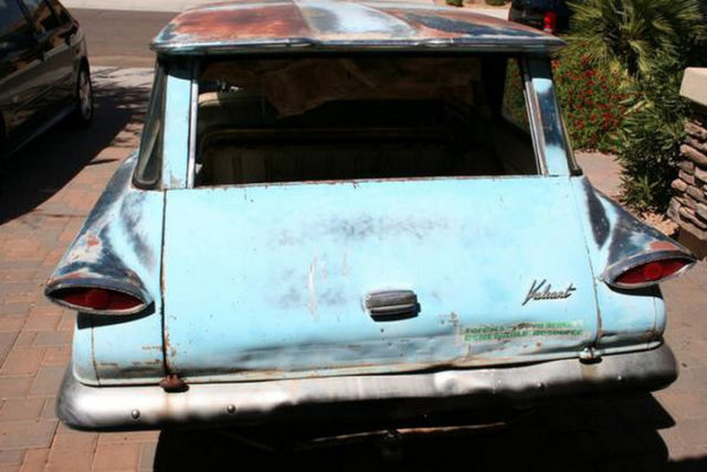 Junkyard Find: 1960 Plymouth Valiant Station Wagon - The ...