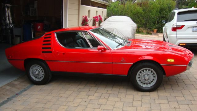 Alfa Romeo 1971 Montreal Red For Sale