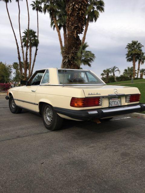 All original 1982 mercedes benz sl 380 southwest for Mercedes benz palm desert