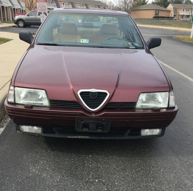 Alpha Romeo NO RESERVE AUCTION For Sale