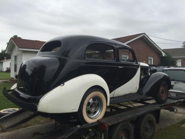 Antique Car 1937 Studebaker Dictator Rare 2 Door Sedan