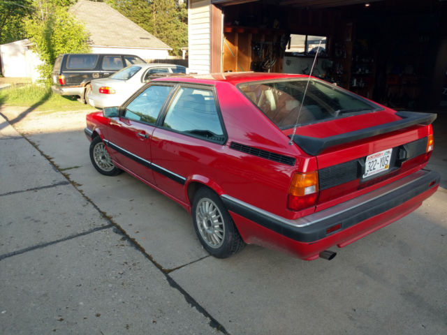 audi coupe gt 1985 rare car for sale audi other gt 1985 for sale in south milwaukee wisconsin. Black Bedroom Furniture Sets. Home Design Ideas