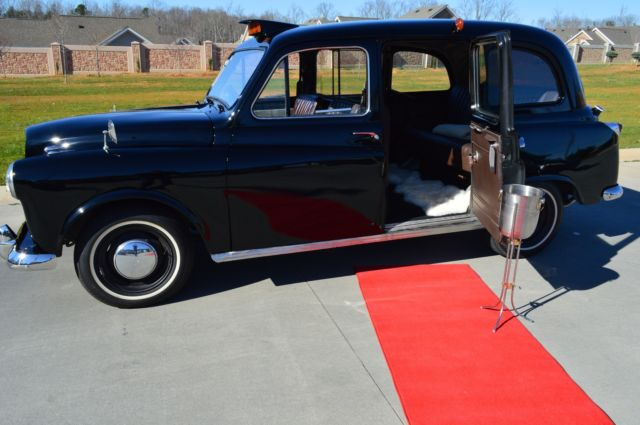 Cabs In Austin >> Authentic 1967 Austin FX4 London Taxi Cab! Restored! Antique One of a kind! Runs for sale ...