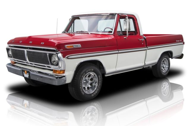 Award winning frame off restored f100 390 v8 auto ps ac for Ford truck motors for sale