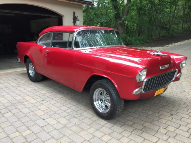 Awesome 1955 chevy bel air hardtop sport coupe in candy apple red for sale chevrolet bel air - 1955 chevrolet belair sport coupe ...