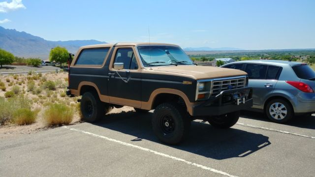 awesome 1985 ford bronco eddie bauer edition for sale ford bronco 1985 for sale in albuquerque. Black Bedroom Furniture Sets. Home Design Ideas