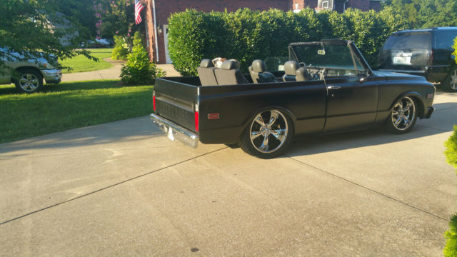bagged 20 22 wheels matte black 2WD for sale Chevrolet