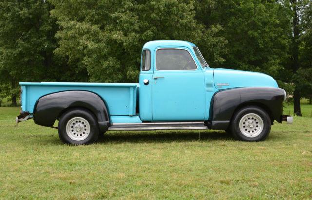 Barnfound 1950 chevrolet 3100 swb 5 window pickup truck for 1950 chevy pickup 5 window