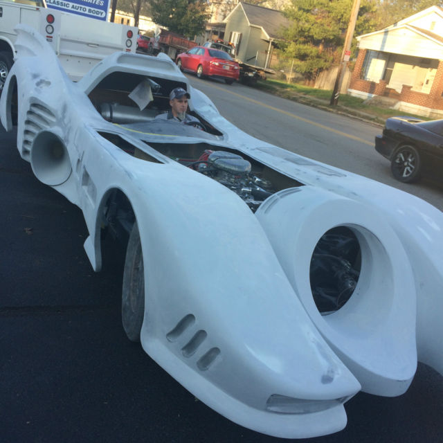 1900 Replica Kit Makes Bentley: Batmobile Project Car Ready To Finish Full Size Car Not A