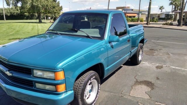 Beautiful 1 Az Owner 1994 Chevy Step Side Sport Truck For