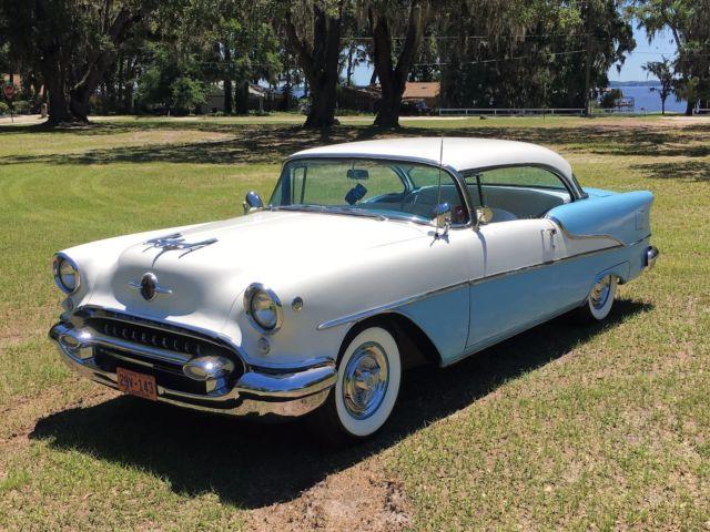 Beautiful 1955 oldsmobile super 88 2 door hardtop 1956 for 1956 pontiac 2 door hardtop