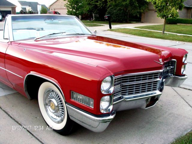 Beautiful 1966 cadillac convertible 429 v8 air cond for 429 cadillac motor for sale