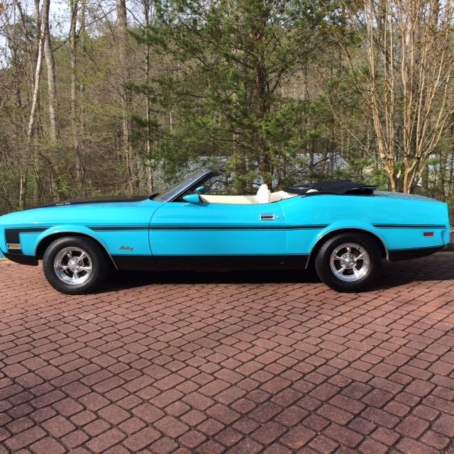 Ford Mustang For Sale In Ga: BEAUTIFUL 1973 MUSTANG CONVERTABLE ''NO RESERVE'' For Sale