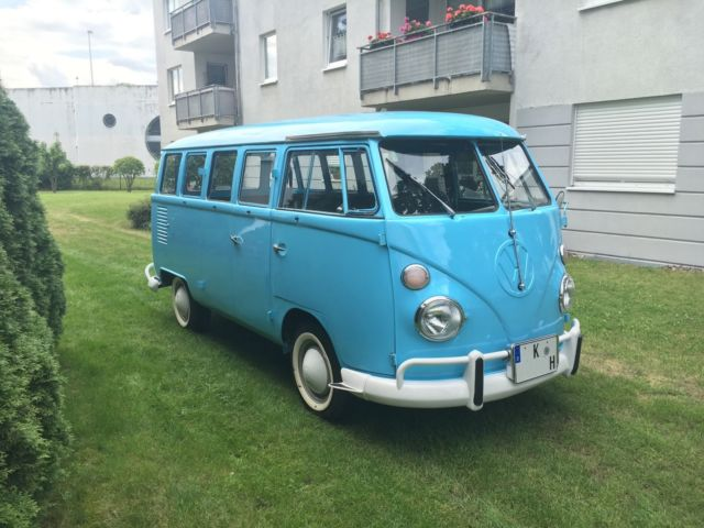 beautiful 1974 15 window vw t1 bus for sale volkswagen. Black Bedroom Furniture Sets. Home Design Ideas