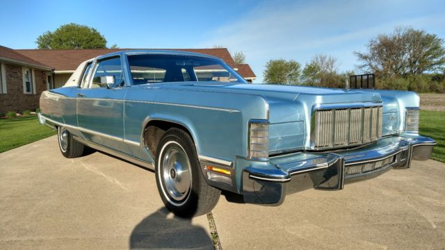 beautiful 1975 lincoln town coupe for sale lincoln continental 1975 for sale in la salle. Black Bedroom Furniture Sets. Home Design Ideas