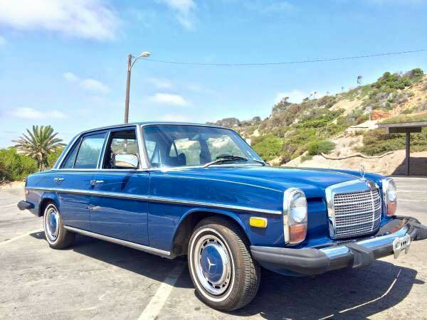 Beautiful classic 1974 mercedes benz 240d great condition for Mercedes benz 240d for sale