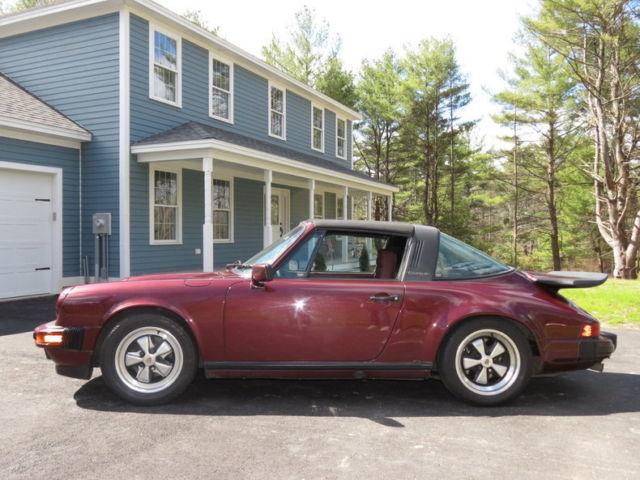 beautiful classic 1984 porsche 911 carrera targa for sale porsche 911 carrera 1984 for sale. Black Bedroom Furniture Sets. Home Design Ideas