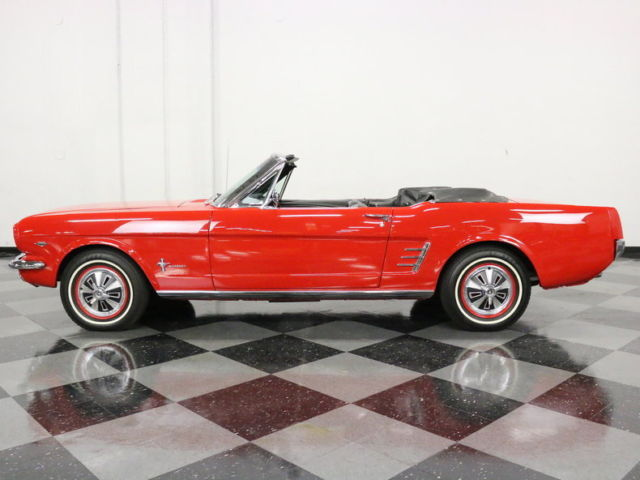 beautiful drop top w gorgeous paint 289 v8 auto well optioned very clean for sale ford. Black Bedroom Furniture Sets. Home Design Ideas