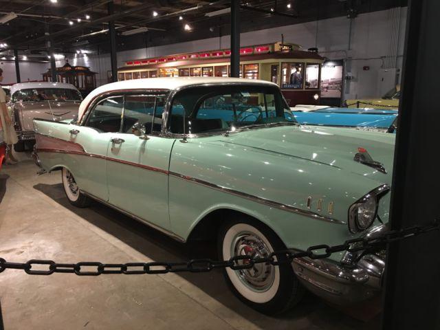 Cars Com Dealer Reviews >> Beautiful Original Surf Green and White 1957 Chevrolet Belair (1955 1956 1957) for sale ...