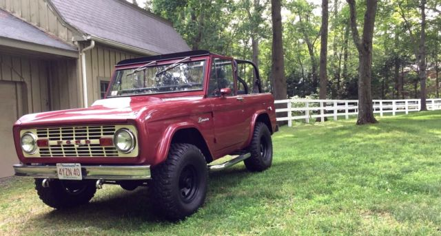 beautifully restored 1966 ford bronco with 351 and hard top for sale ford bronco 1966 for sale. Black Bedroom Furniture Sets. Home Design Ideas