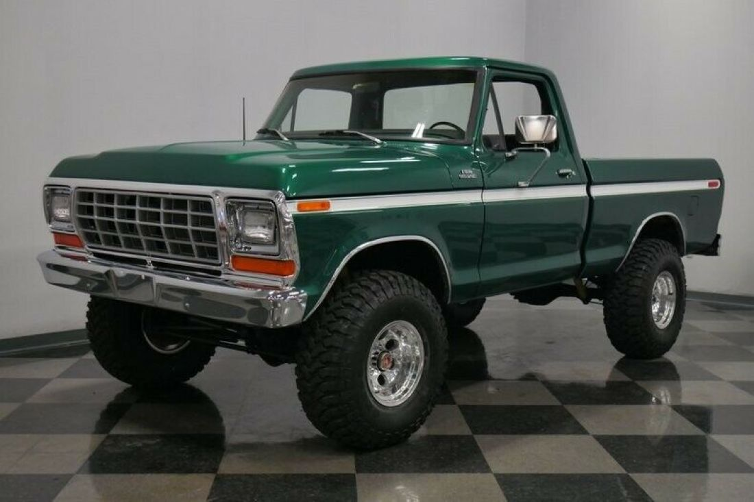 Big Block Ford Manual Trans Green Lifted 4x4 For Sale Manual Guide