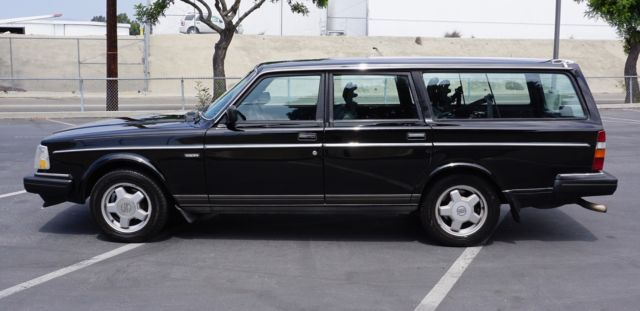 black 1990 volvo 240 wagon for sale volvo 240 1990 for. Black Bedroom Furniture Sets. Home Design Ideas
