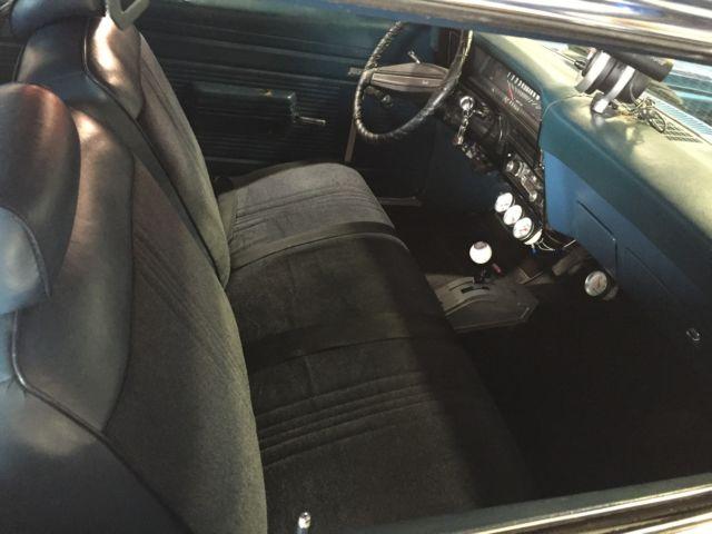 Blown 1971 Chevy II Chevrolet Nova Blower, Supercharger