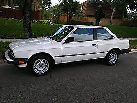 United Bmw Roswell >> bmw 318i 1984 white / burgundy leather interior (Good Condition) for sale - BMW Other 1984 for ...