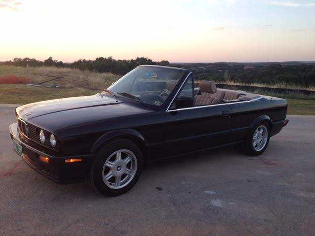 Bmw 318ic Convertible 84k Miles Orignial Paint 5sp For Sale Bmw 3 Series 1991 For Sale