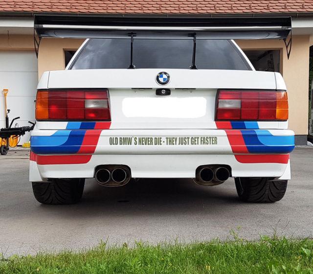 BMW E30, Custom Rebuild M3, All New, Wider Track, Race