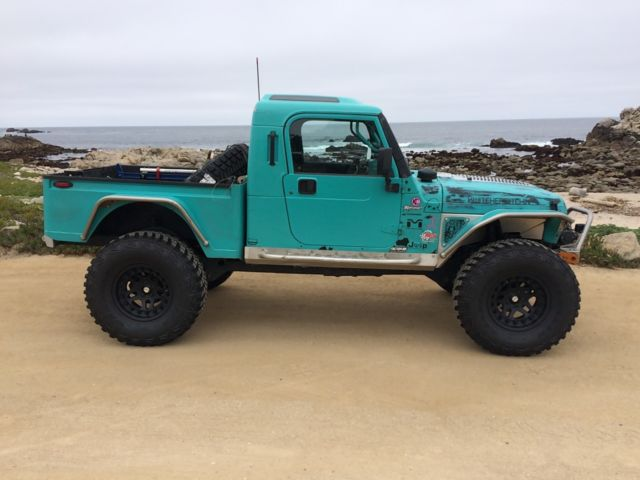 Brute Jeep For Sale >> Built Jeep BRUTE Pickup Truck Conversion Wrangler 4x4 jk8 jk fj40 4.0 Engine for sale - Jeep ...
