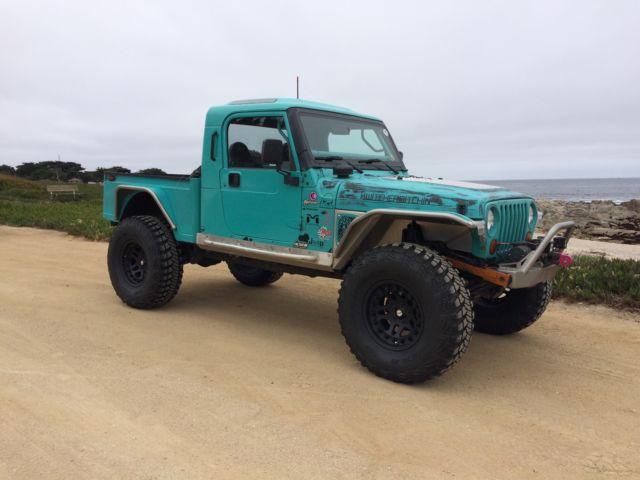 built jeep brute pickup truck conversion wrangler 4x4 jk8. Black Bedroom Furniture Sets. Home Design Ideas