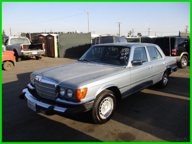C 1978 mercedes benz 280se 4 door sedan 6 cylinder for Mercedes benz of southern california