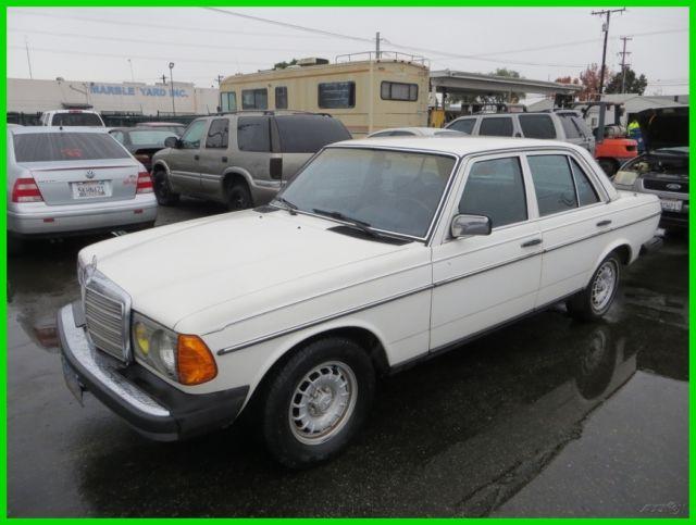sale   mercedes benz 200 series 1982 for sale in anaheim california
