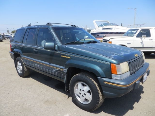 c 1993 jeep grand cherokee limited used 5 2l v8 16v automatic suv no reserve for sale jeep. Black Bedroom Furniture Sets. Home Design Ideas