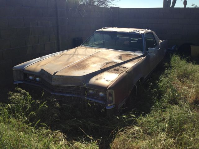 Cadillac Eldorado Total Restoration Or Parts Car on Cadillac 4100 Engine Block