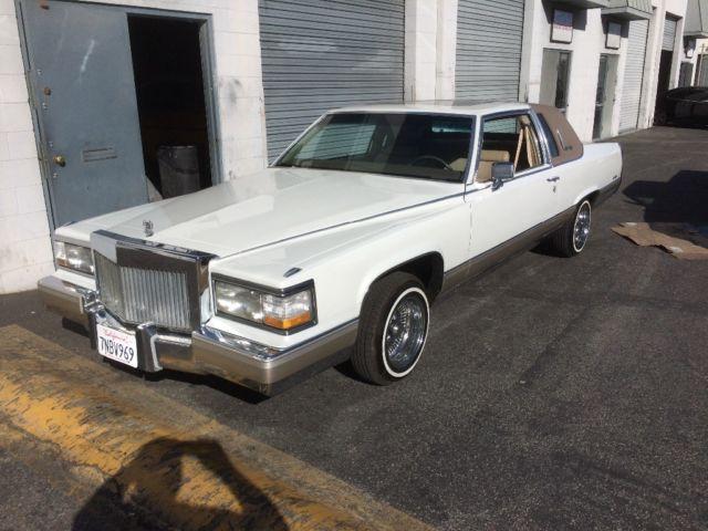 Cadillac Fleetwood Brougham Coupe De Elegance For Sale