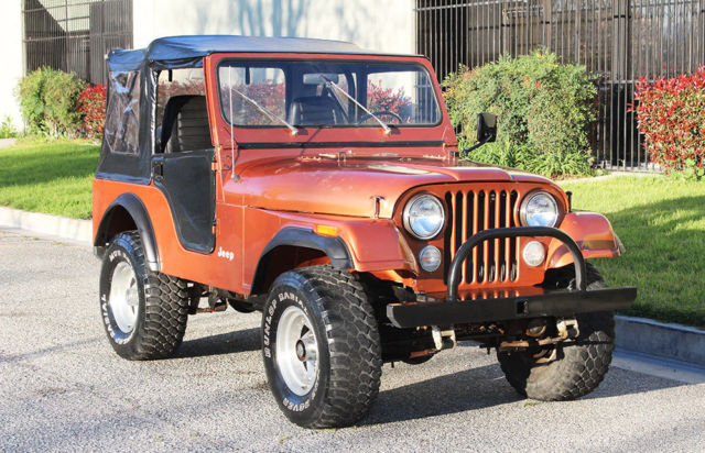 california original 1981 jeep cj5 50k orig miles 100 rust free original paint for sale jeep. Black Bedroom Furniture Sets. Home Design Ideas