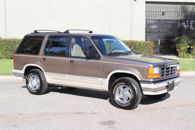 california original 1991 ford explorer 4x4 one owner 78k orig like new a for sale ford. Black Bedroom Furniture Sets. Home Design Ideas