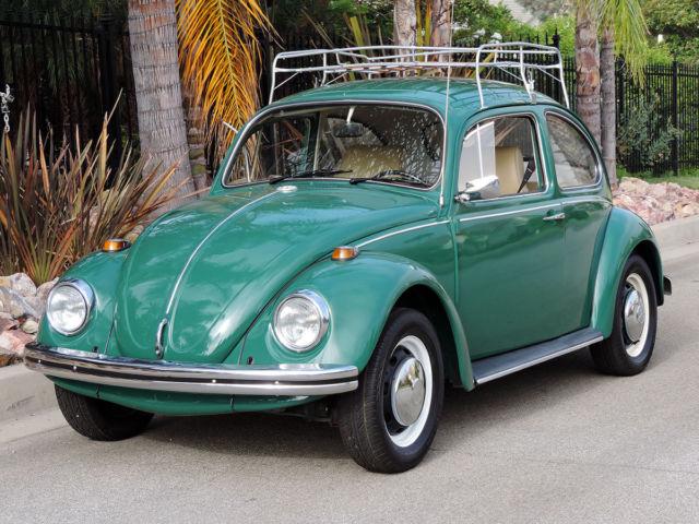 california original  one owner  fully restored 1969 vw bug