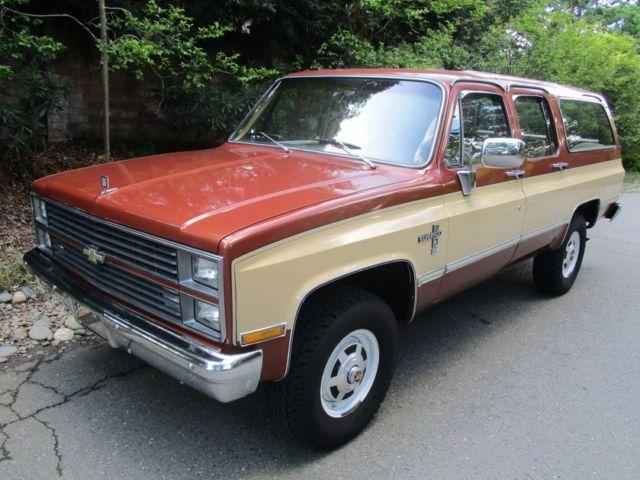 California Original Suburban K10 K20 K30 Other Pickup ...