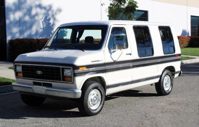California Original  U0026 39 84 Ford Econoline 150  U0026quot Shorty U0026quot  100