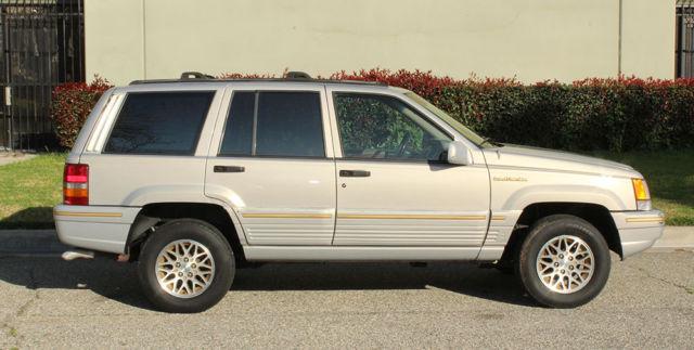 california survivor 1994 jeep grand cherokee limited 100 rust free v 8 for sale jeep. Black Bedroom Furniture Sets. Home Design Ideas