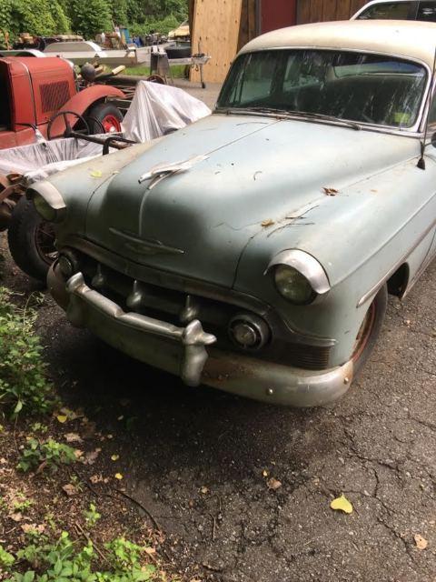 Cehvrolet four door sedan 1953 for sale chevrolet bel for 1953 chevy bel air 4 door