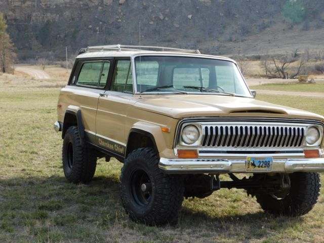 cherokee chief for sale jeep jeep cherokee chief chief 1978 for sale in newcastle wyoming. Black Bedroom Furniture Sets. Home Design Ideas