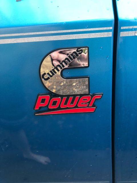 chevy blazer K5 4x4 with 12 valve Cummins diesel and Four