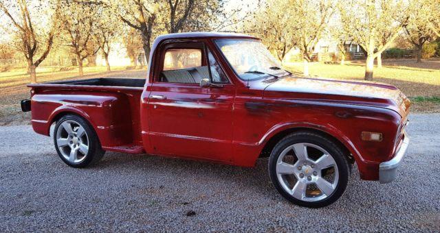 Chevy C 10 Gmc Pickup Shop Truck 1968 1969 1970 1971 1972