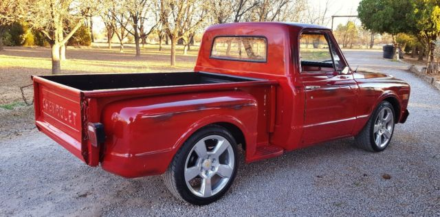 Chevy C 10 Gmc Pickup Shop Truck 1968 1969 1970 1971 1972